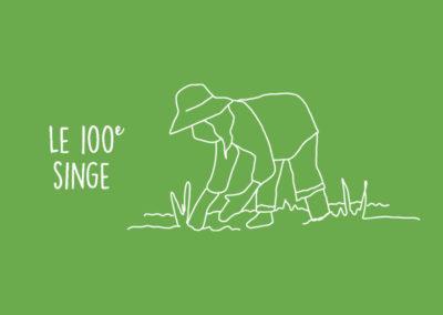 Le 100ème singe